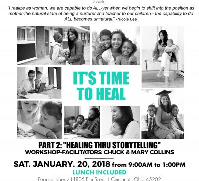 """""""Healing thru Storytelling"""""""